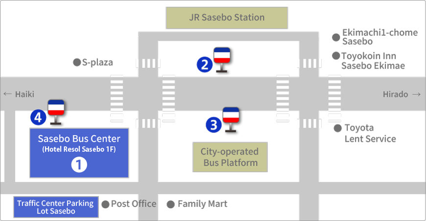 Sasebo Bus Center