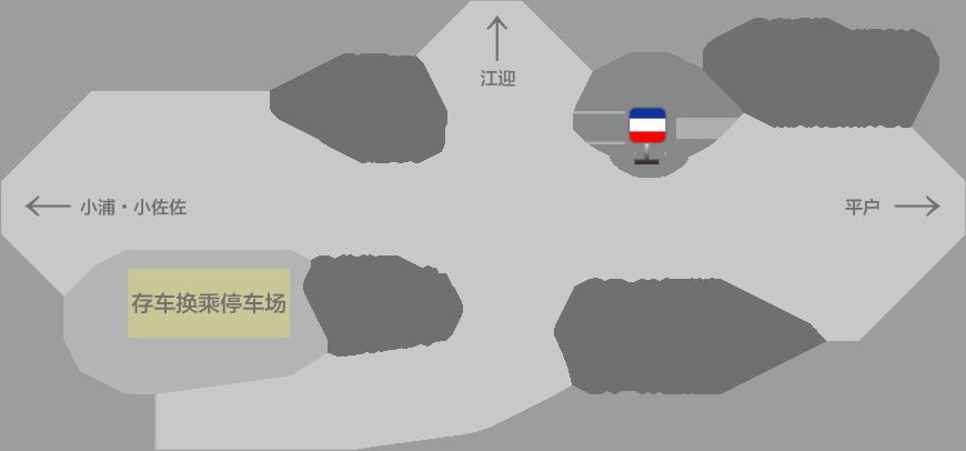 佐佐高速公路出入口